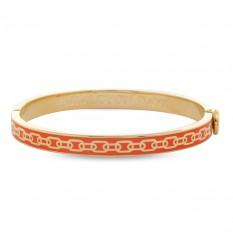 $150.00 Skinny Chain Orange & Gold