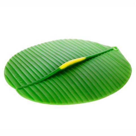 "$14.99 11"" Round banana leaf lid"