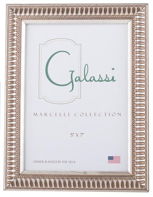 Frame Marcelli Silver Lines W/Beads 4x4