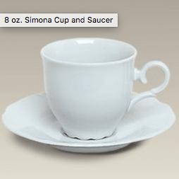 $26.00 Cup/Saucer 8oz
