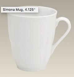 """$18.00 Mug 4.125"""""""