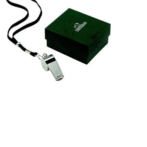 $18.50 Stainless Steel Coach\'s Whistle with Landyard