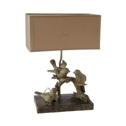 "$73.95 Lamp ~ ""Birds on a Branch"""