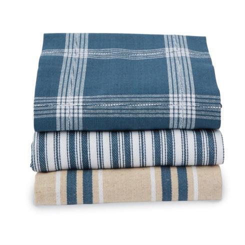 $15.95 Stacked Towel Set ~ Blue