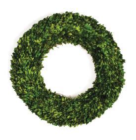 "$72.95 Boxwood 16"" Wreath"