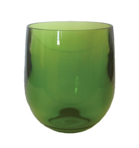 $7.95 Acrylic Tumbler ~ Emerald