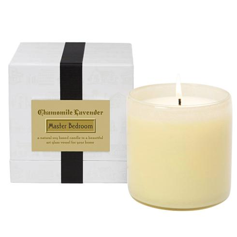 $61.95 Glass Candle ~ Chamomile Lavender ~ Master Bedroom