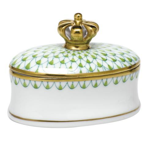 $225.00 Box with Crown - Key Lime