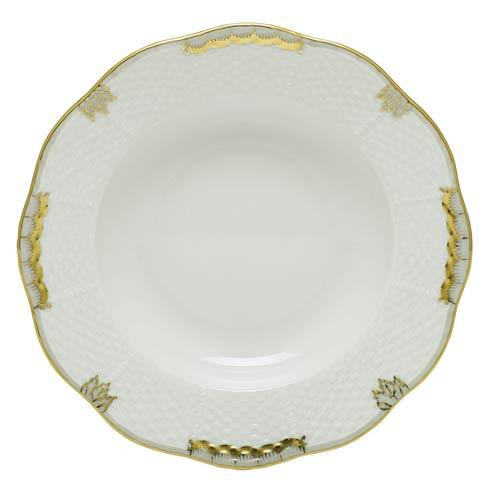 $125.00 Rim Soup Plate - Multicolor