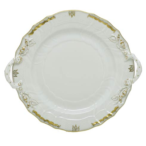 $360.00 Chop Plate with Handles - Multicolor