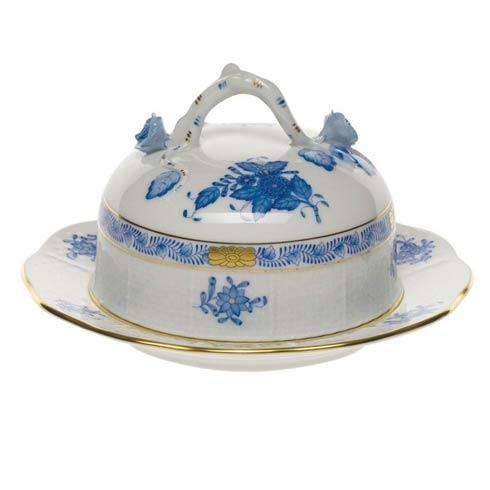 """$275.00 Cov Butter Dish  6"""" D 3.5"""" H"""
