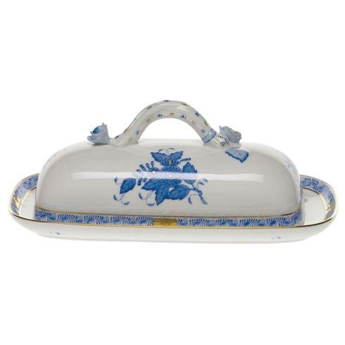 """$350.00 Butter Dish W/Branch  8.5"""" L"""