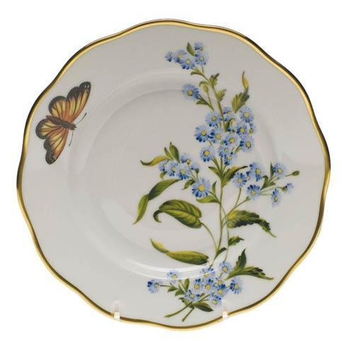 $235.00 Salad Plate   Blue Wood