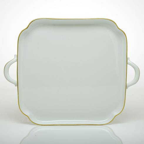 $325.00 Square Tray with Handles