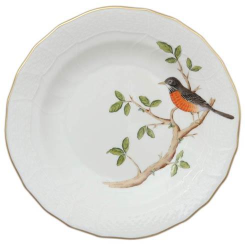 $165.00 Dessert Plate - Robin
