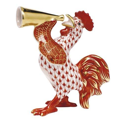 $350.00 Crowing Rooster -  Rust