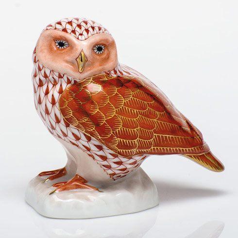 $350.00 Burrowing Owl - Rust