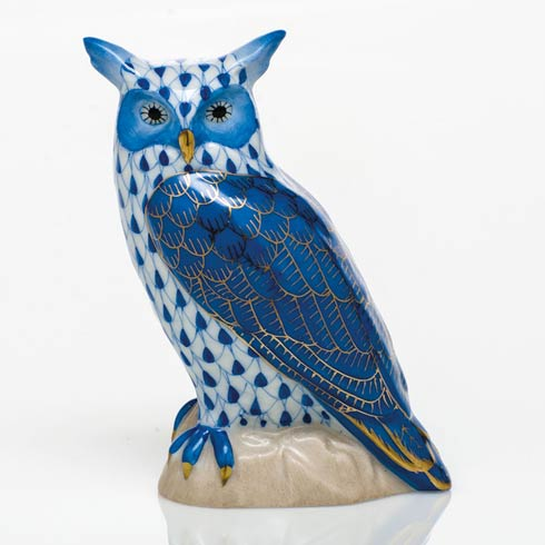 $325.00 Great Horned Owl - Sapphire