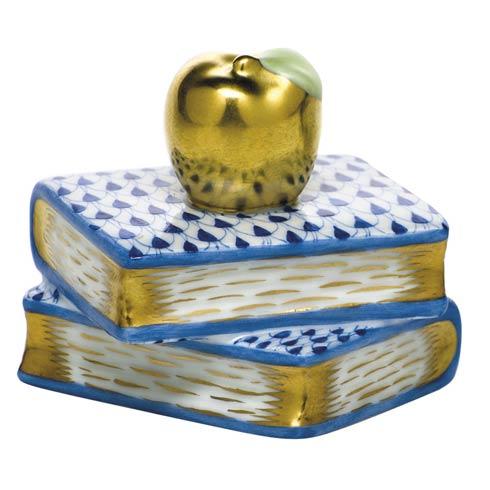 $225.00 Apple on Books - Sapphire