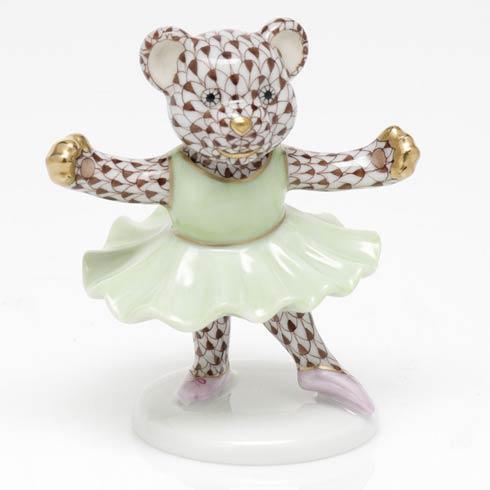 $325.00 Ballerina Bear - Chocolate