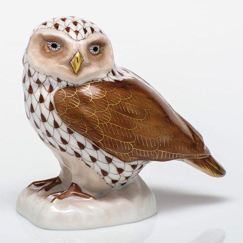$350.00 Burrowing Owl - Chocolate