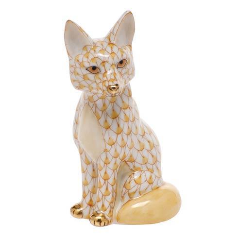 $240.00 Sitting Fox - Butterscotch