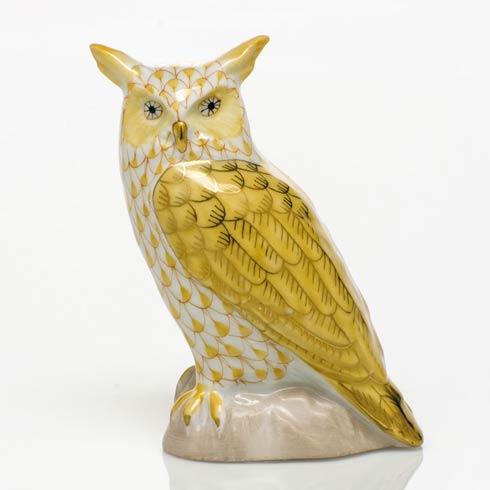 $325.00 Great Horned Owl - Butterscotch