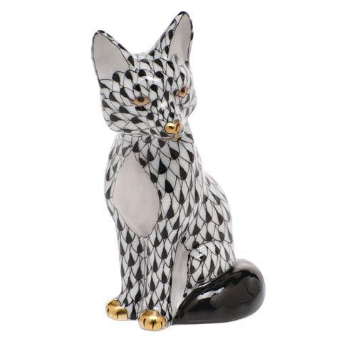 $240.00 Sitting Fox - Black