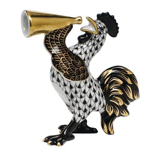 $350.00 Crowing Rooster -  Black