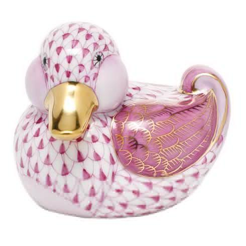 $285.00 Dapper Ducky - Raspberry