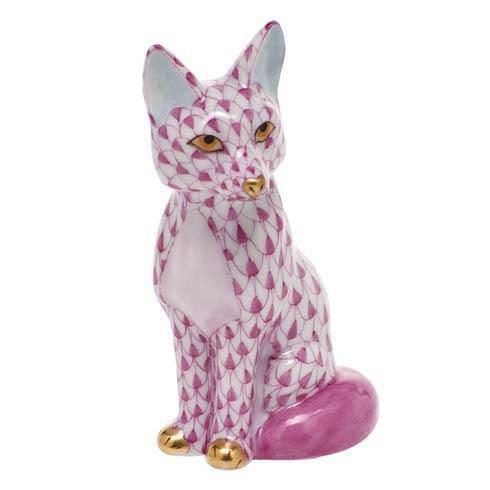 $240.00 Sitting Fox - Raspberry