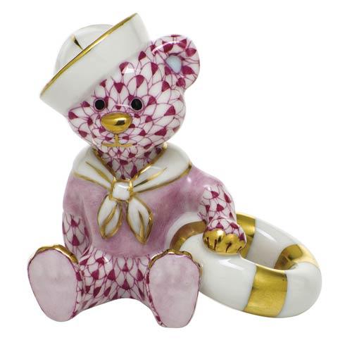 $325.00 Sailor Bear - Raspberry