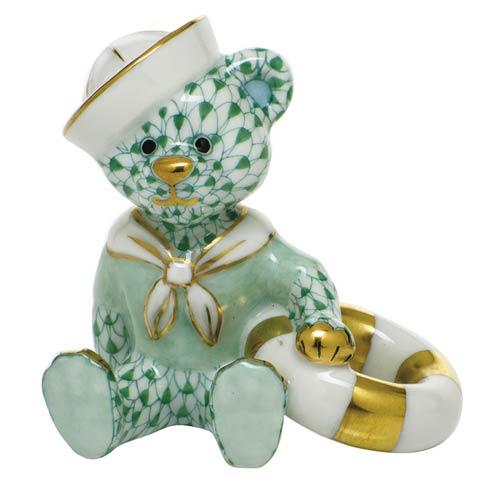 $325.00 Sailor Bear - Green