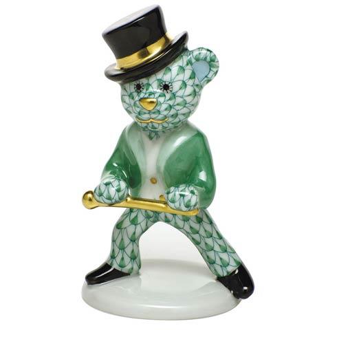 $325.00 Tap Dance Bear - Green