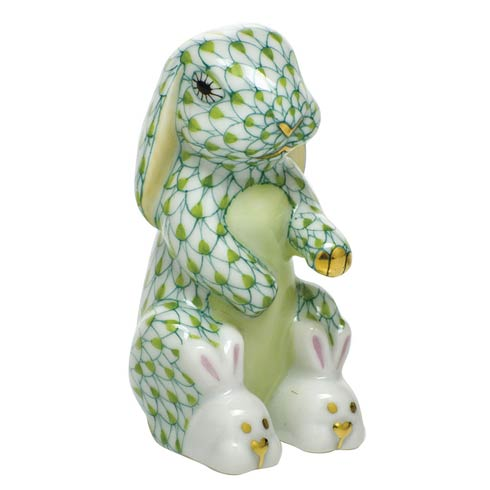 $325.00 Bunny Slippers - Key Lime