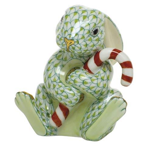 $395.00 Candy Cane Bunny-Key Lime