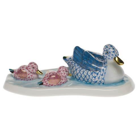 $695.00 Duck & Ducklings - Blu Pnk