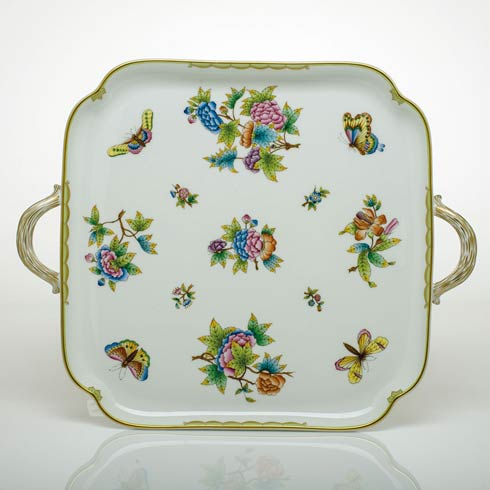 $720.00 Square Tray with Handles
