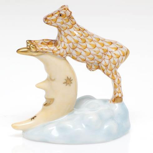 $295.00 The Cow Jumped Over the Moon - Butterscotch