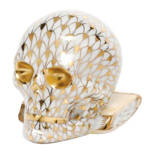 $325.00 Skull - Gold