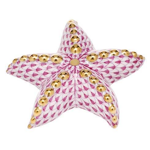 $245.00 Puffy Starfish - Raspberry