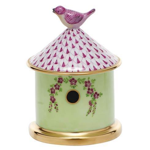 $295.00 Bird House Box - Raspberry