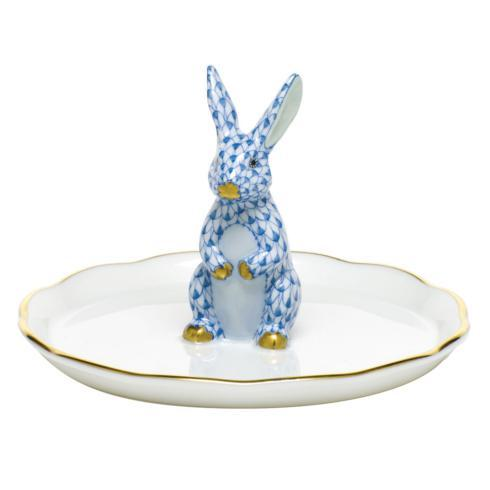 $275.00 Bunny Ring Holder - Blue