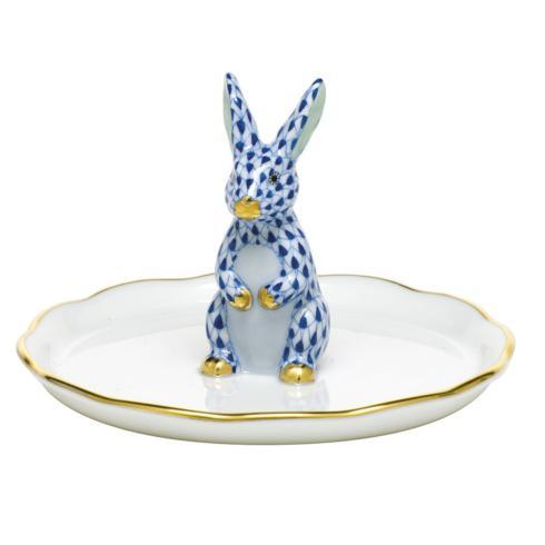 $275.00 Bunny Ring Holder - Sapphire