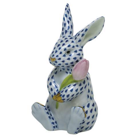 $535.00 Blossom Bunny - Sapphire