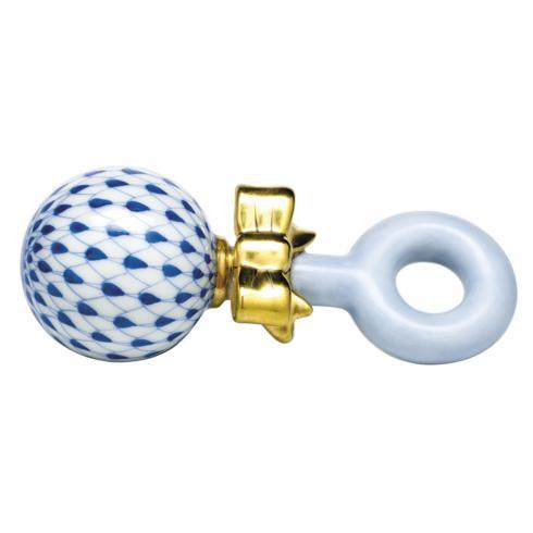 $225.00 Baby Rattle - Sapphire