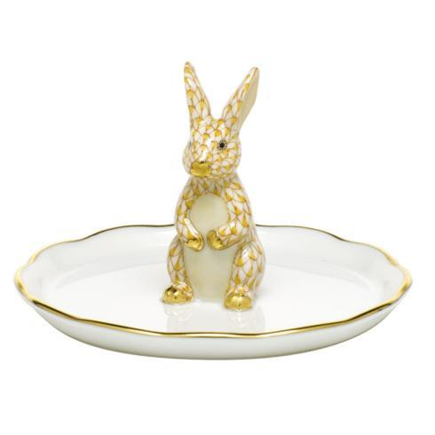 $275.00 Bunny Ring Holder - Butterscotch