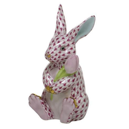 $535.00 Blossom Bunny - Raspberry