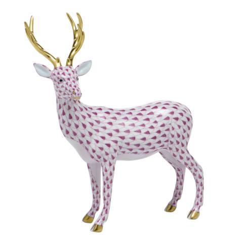 $650.00 Deer - Raspberry