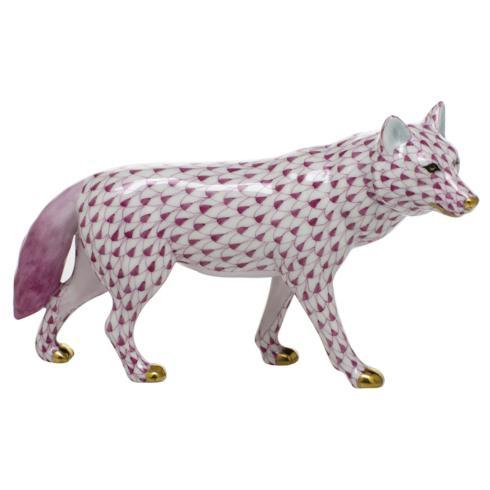 $525.00 Wolf - Raspberry